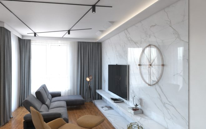 Prace projektowe dla nowego mieszkania w Warszawie